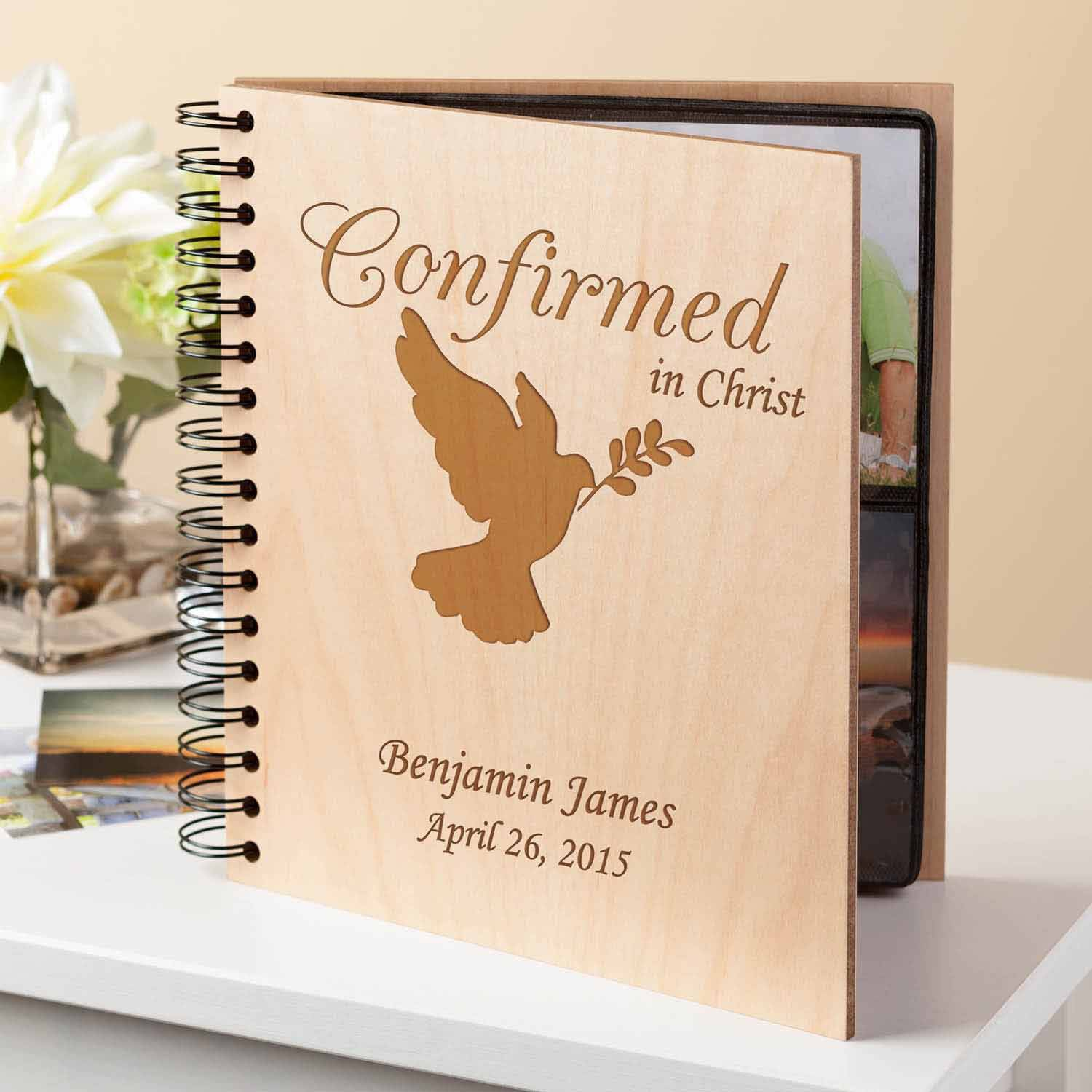 Personalized Confirmation Photo Album