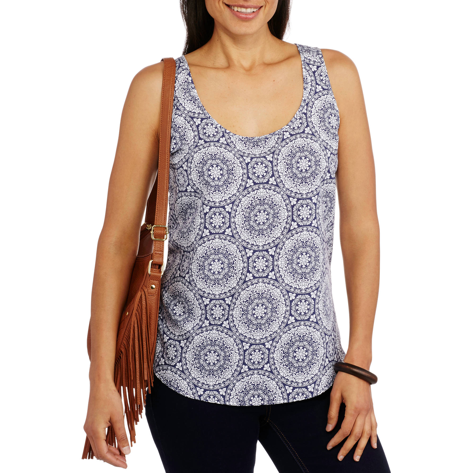 Faded Glory Women's Essential Woven Tank