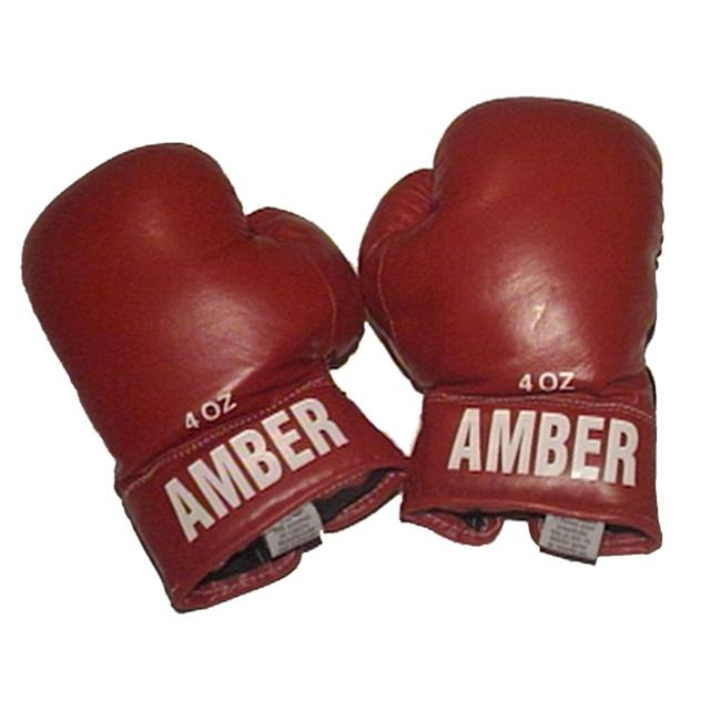 Amber Sporting Goods AKG-3009-B Kids Boxing Bag Gloves 4oz Black