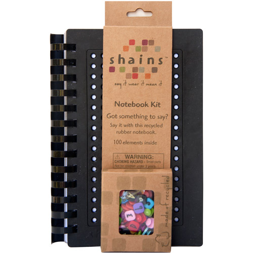 Shains Notebook with 100 Elements, Black
