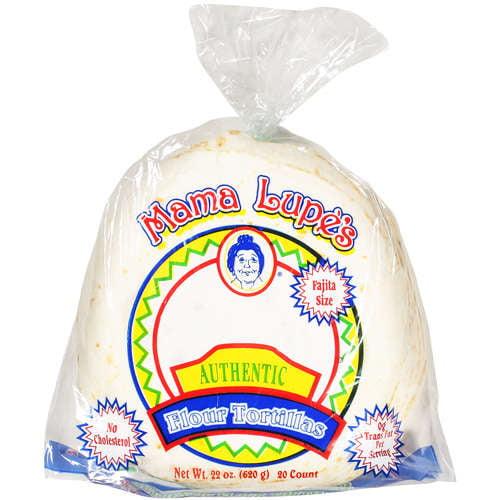 Mama Lupe's: Fajita Size Flour Tortillas, 22 Oz