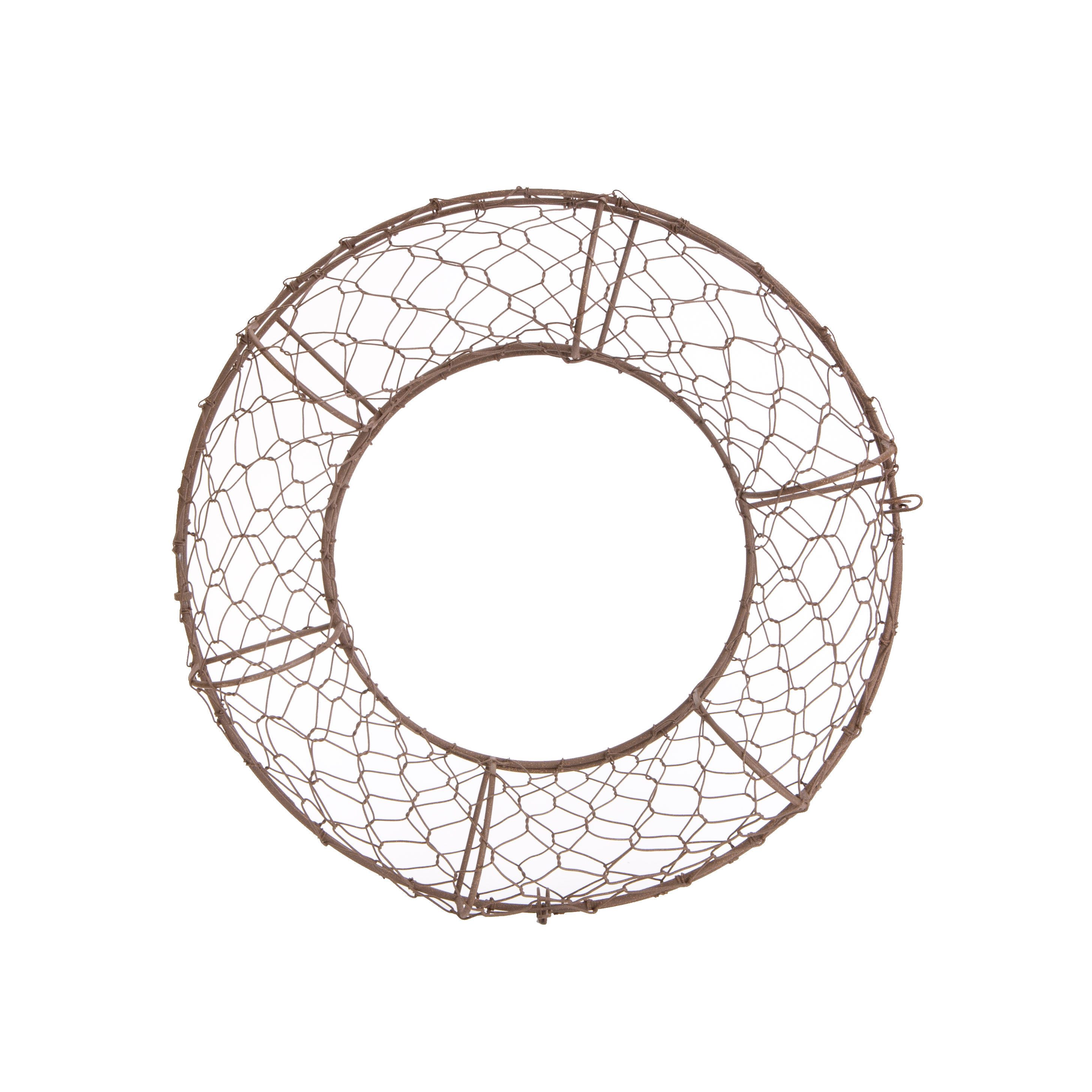 Image of Akasha Fillable Wire Wreath Frame