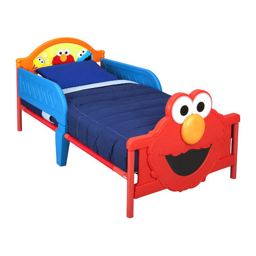 Delta Children Sesame Street 3D Convertible Toddler Bed