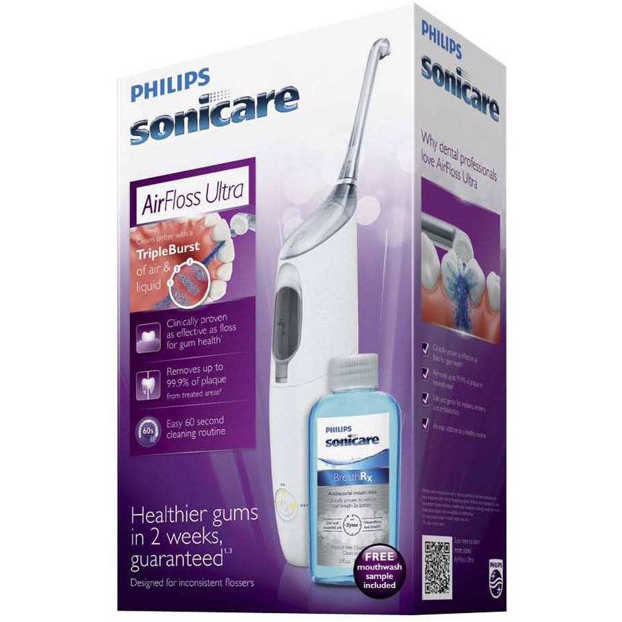 Philips SoniCare Airfloss Ultra Kit, HX8332/11, 6 pc