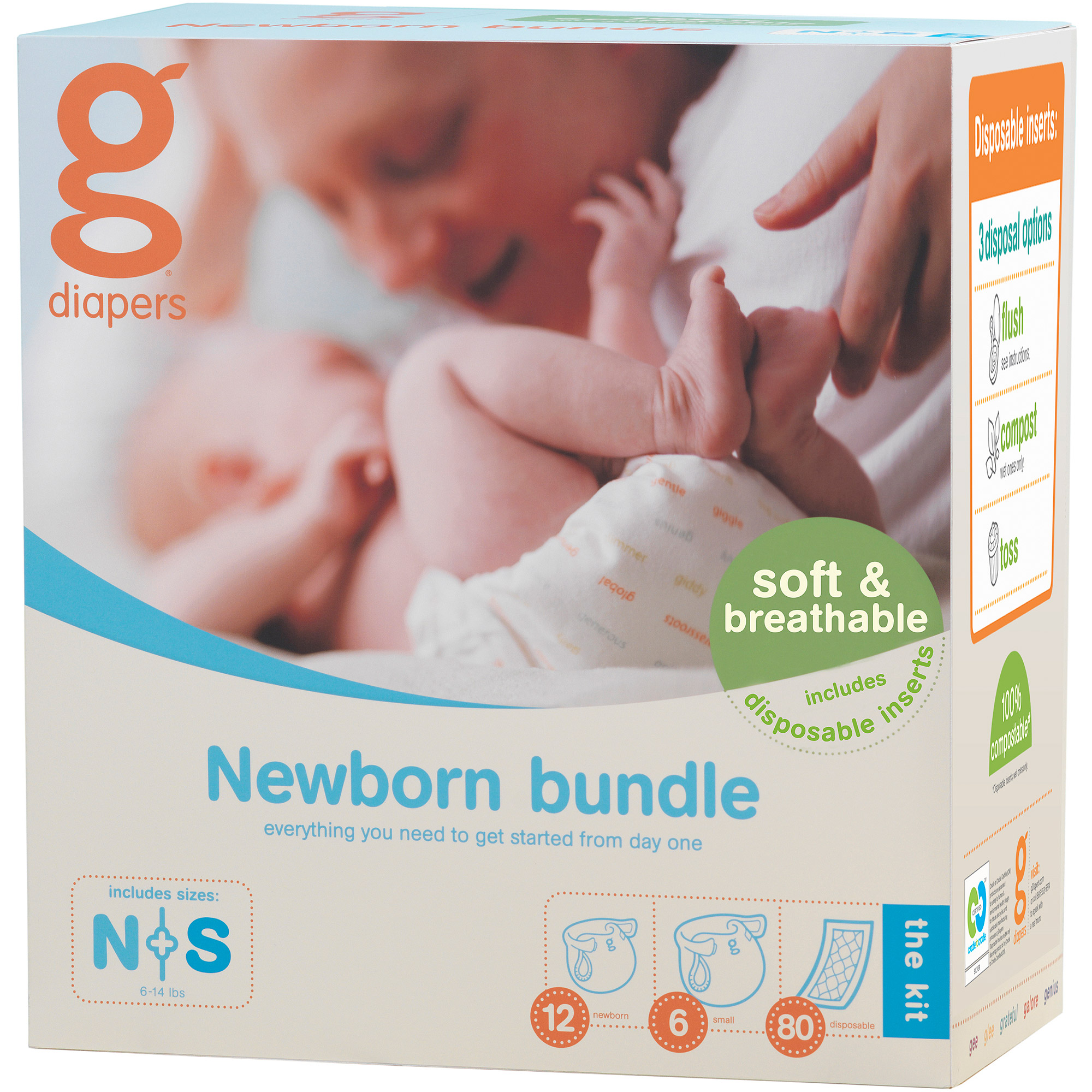 gDiapers Newborn Bundle