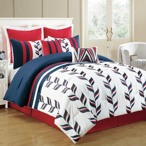 Homechoice International Group Skyla 8 Piece Comforter Set