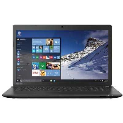 Refurbished Satellite Laptop With 17.3 Screen & AMD A8-6410 Processor, Windows 10, C75D-B7240
