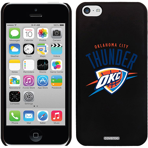 Oklahoma City Thunder OKC Design on iPhone 5c Thinshield Snap-On Case by Coveroo