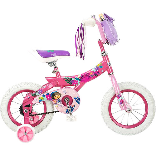 "12"" Nickelodeon Dora the Explorer Girls' Bike"