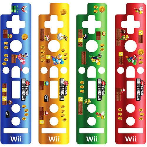Remote Skin, 4pk - Super Mario Bros. (Wii)