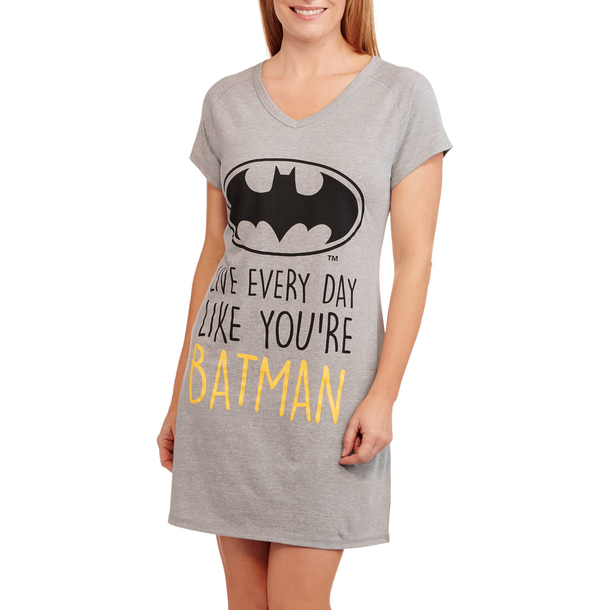 Batman Women's Dorm Sleep Tee