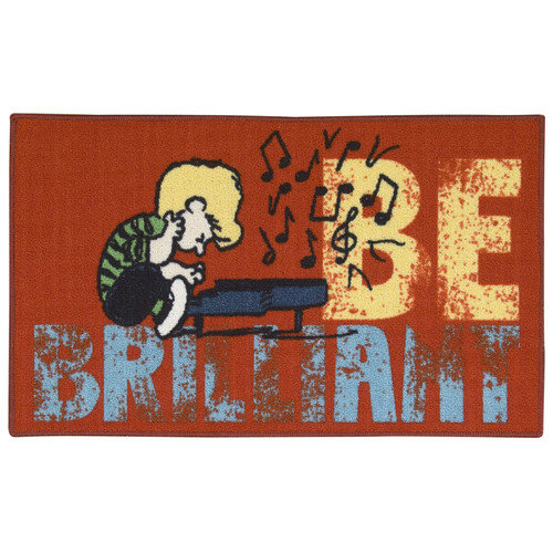 Peanuts Friends Be Brilliant Area Rug