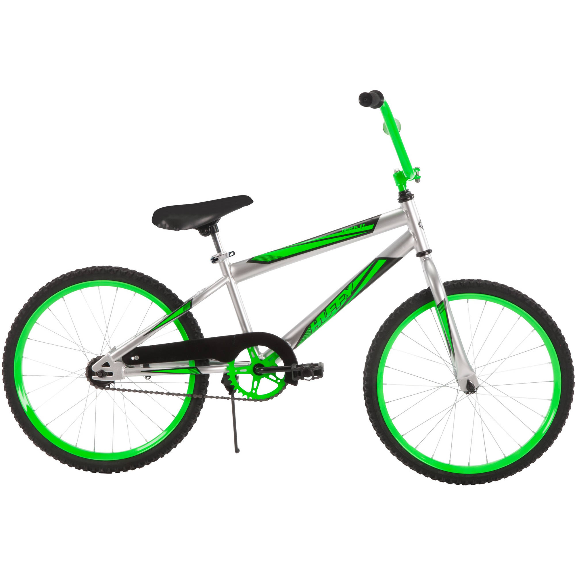"20"" Huffy Boys' Rock It Bike, Silver"