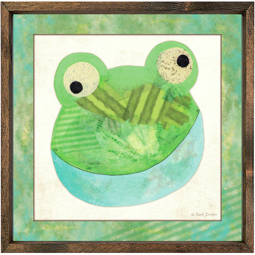 Forest Creations Magnet Art Print Frog Framed Art