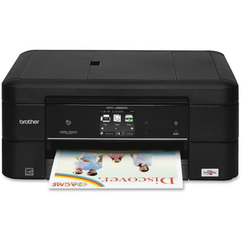 Brother Work Smart MFC-J885DW Inkjet Multifunction Printer - Color - Plain Paper Print - Desktop - Copier/Fax/Printer/Sc