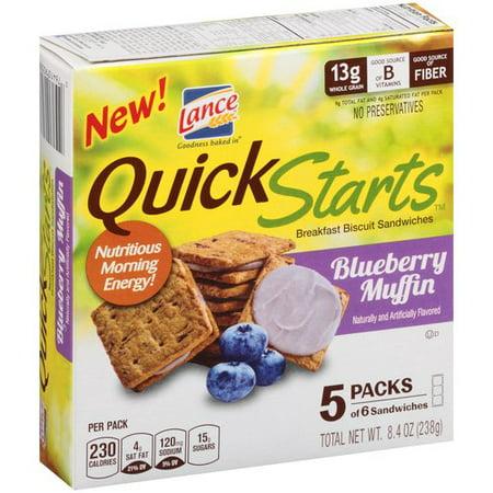 ... Starts Blueberry Muffin Breakfast Biscuit Sandwiches, 5 count, 8.4 oz