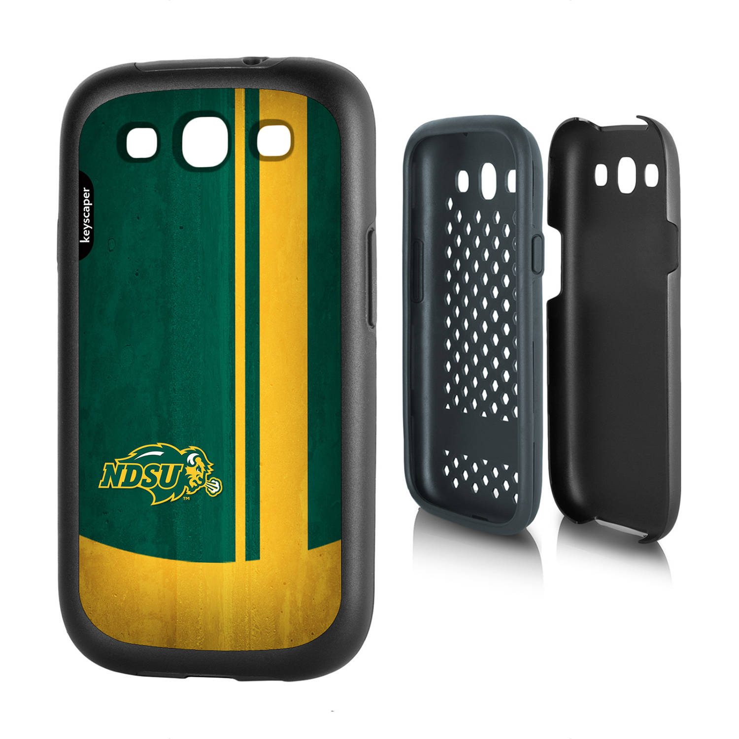 North Dakota State Bison Galaxy S3 Rugged Case