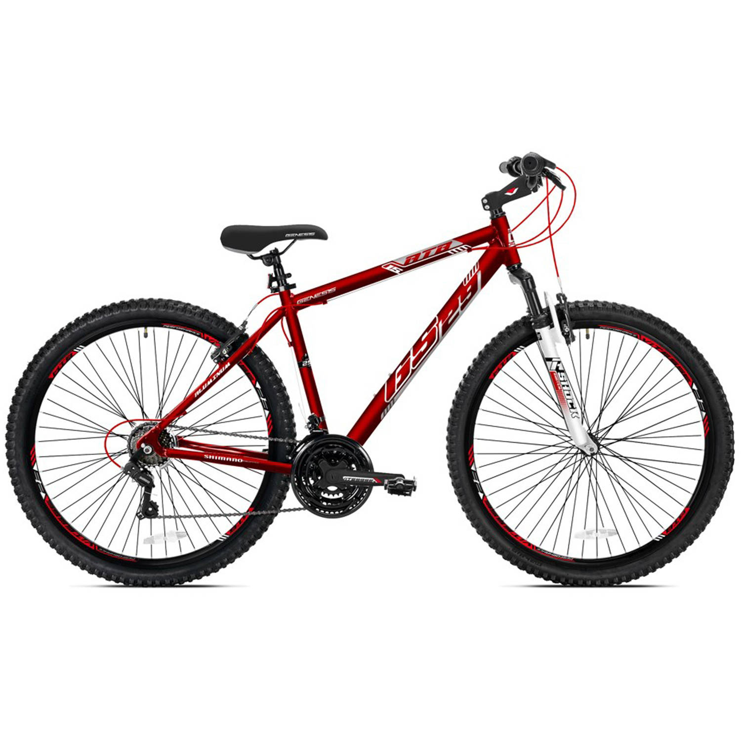 "29"" Men's Genesis GS29 Mountain Bike, Satin Red"