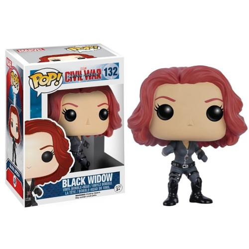 Captain America: Civil War Funko POP Vinyl Figure: Black Widow