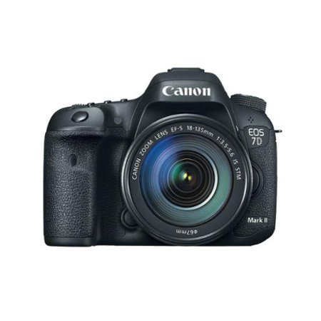 Canon EOS 7D Mark II Digital SLR Camera bundled with 18-135mm IS STM Lens and Canon EF 70-300mm f/4-5.6 IS USM Lens