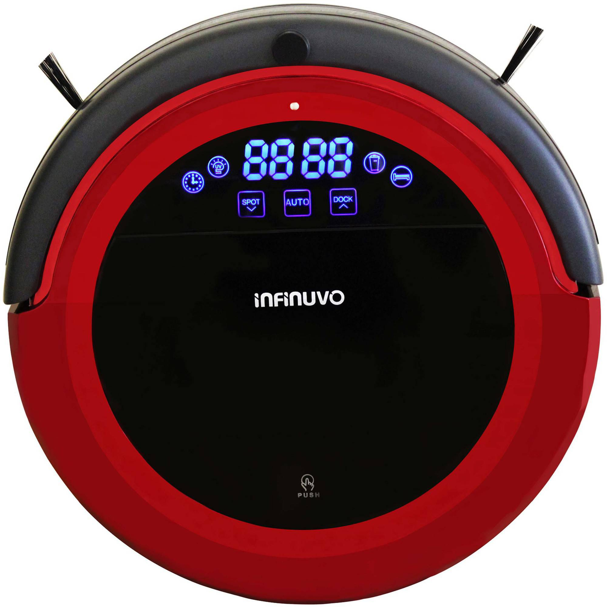 metapo Infinuvo Hovo 710 Robotic Vacuum Cleaner Dry Mop, Red