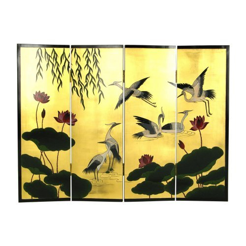 Wayborn 4754 48 X 36 in. Wall Screen Room Divider