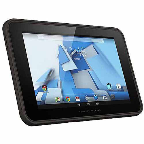 "HP Pro Slate 10.1"" Tablet 16GB Intel Atom Z3735F Quad-Core Processor Android 4.4, Lava Gray"