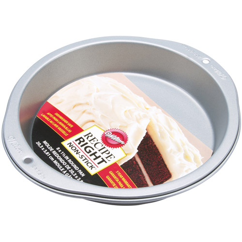"Wilton Recipe Right 8"" Cake Pan, Round 2105-957"