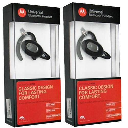 Motorola H730 (2-Pack) Bluetooth Headset