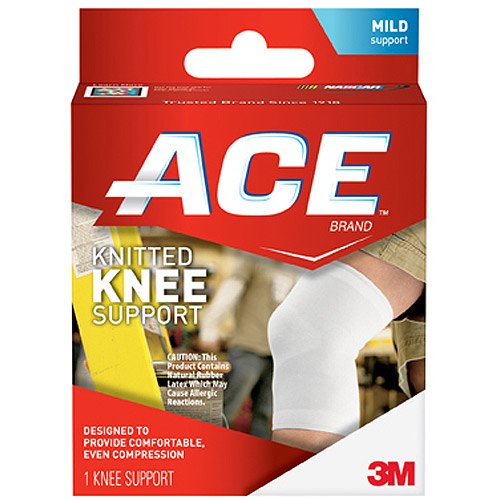 ACE Knitted Knee Support, M, 207304