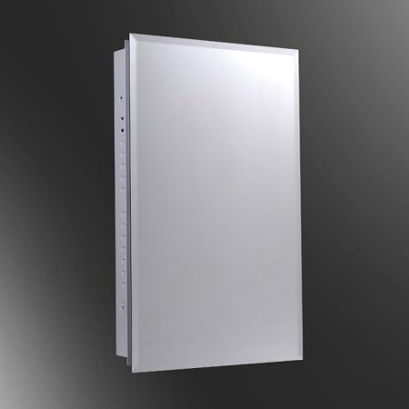 Ketcham 16W x 26H-in. Euroline Surface Mount Medicine Cabinet with Optional Mirror Kit