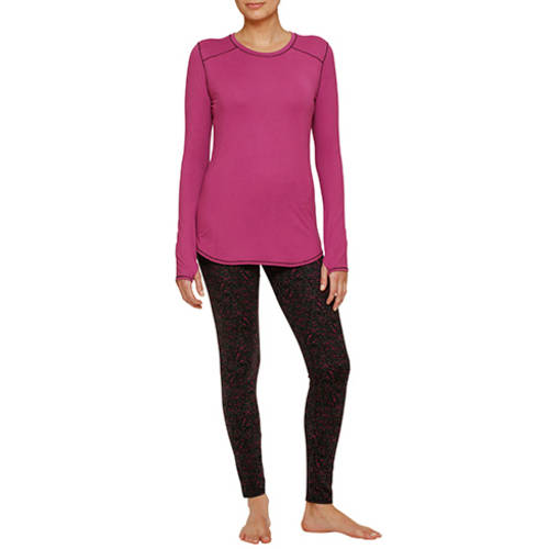 ClimateRight by Cuddl Duds Brushed Jersey Top and Legging