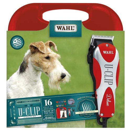 Wahl Deluxe Home Grooming Animal Clipper Kit U-Clip Kit