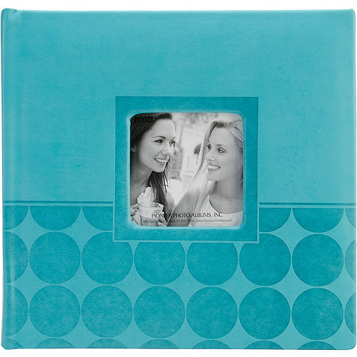 "Embossed 2-Up Photo Album, 4"" x 6"", 200 Pockets"