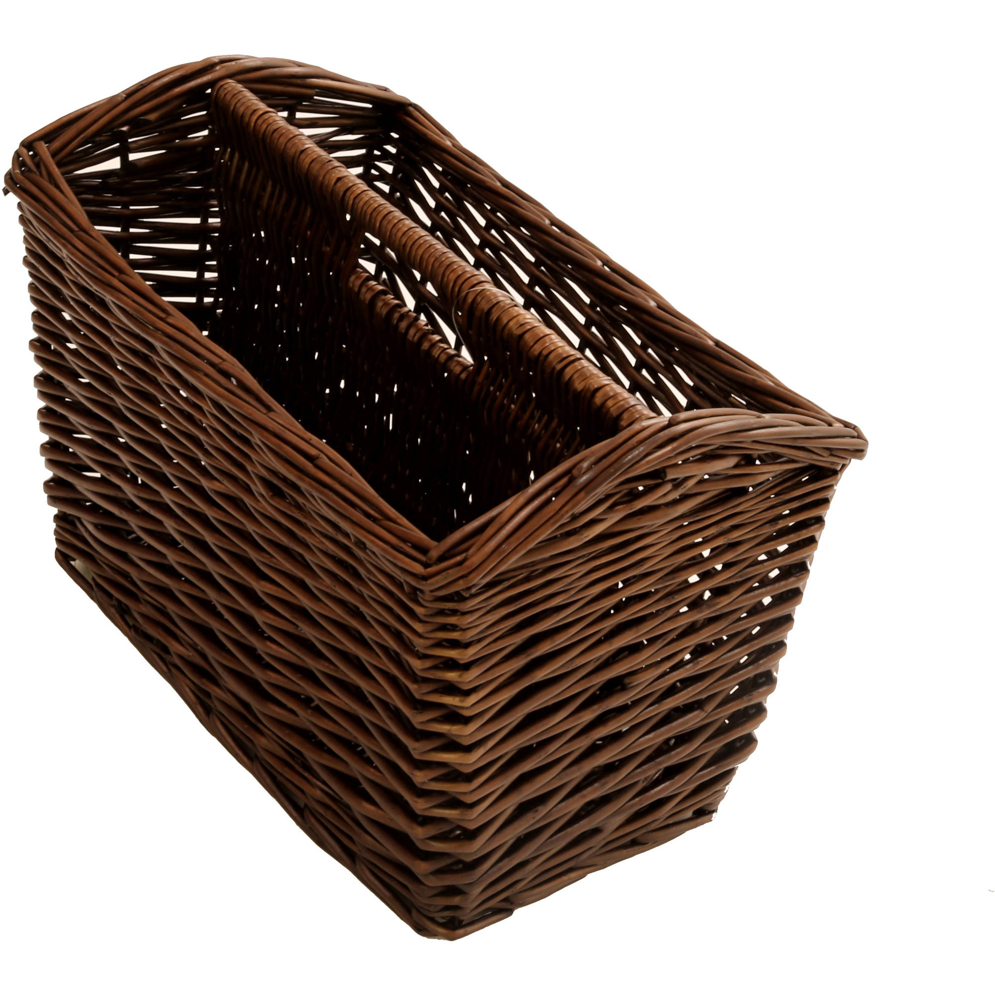 Better Homes and Gardens Willow Magazine Storage Basket