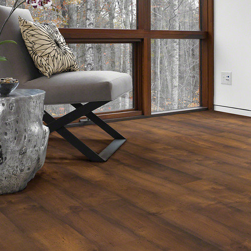 Shaw Floors Landscapes 8'' x 48'' x 6.5mm Maple Laminate in Catella Maple