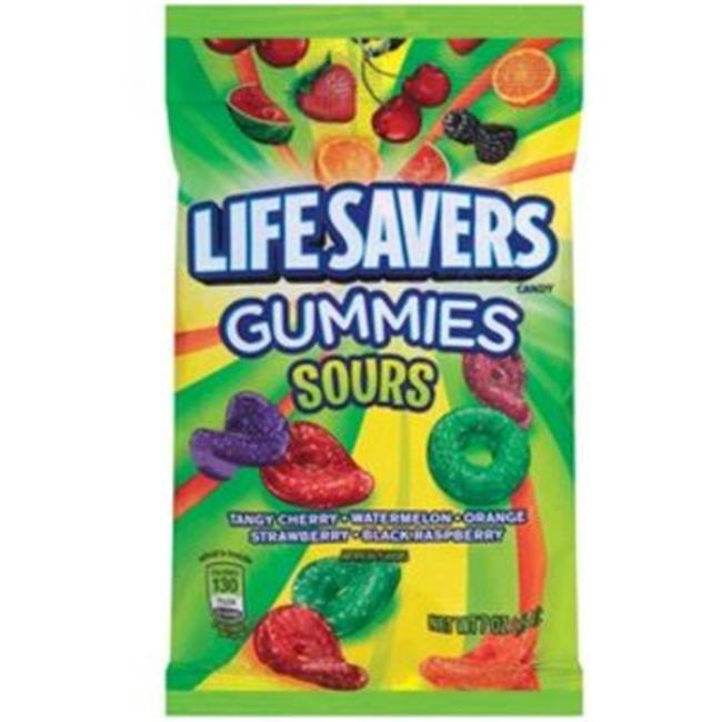 DDI 952833 Lifesavers Gummies Sours Peg 7 Oz.  12 Count Case Of 12