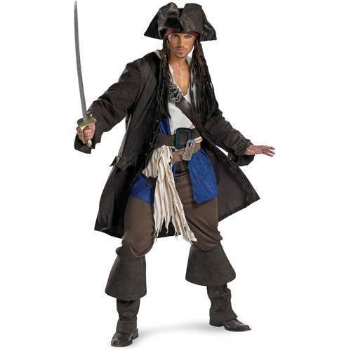 Captain Jack Sparrow Prestige Adult Halloween Costume