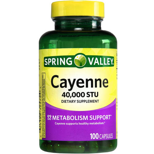Spring Valley Cayenne 100ct