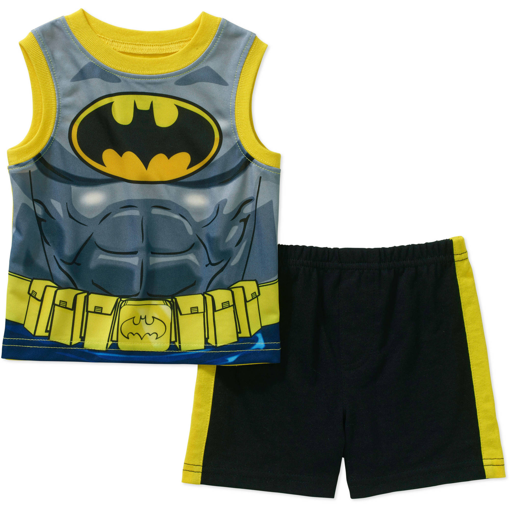 Batman Newborn Baby Boy Muscle Tank and Short 2 pc Set