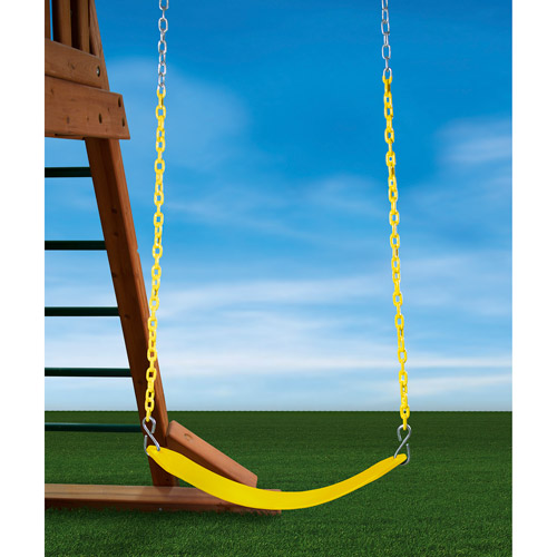 Gorilla Playsets Swing Belt Assembly, Yellow