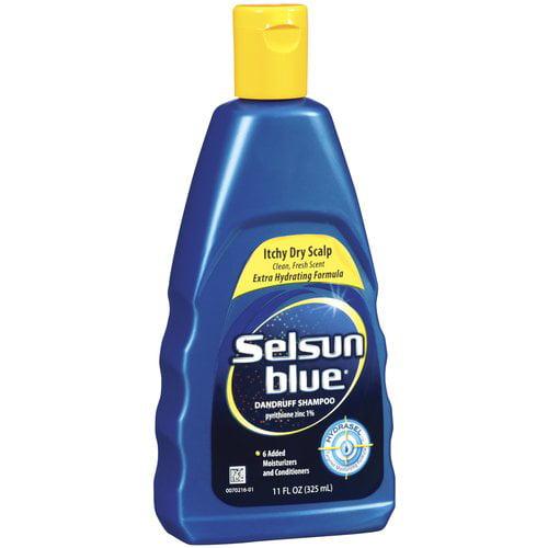 Selsun Blue Itchy Dry Scalp Dandruff Shampoo, 11 fl oz