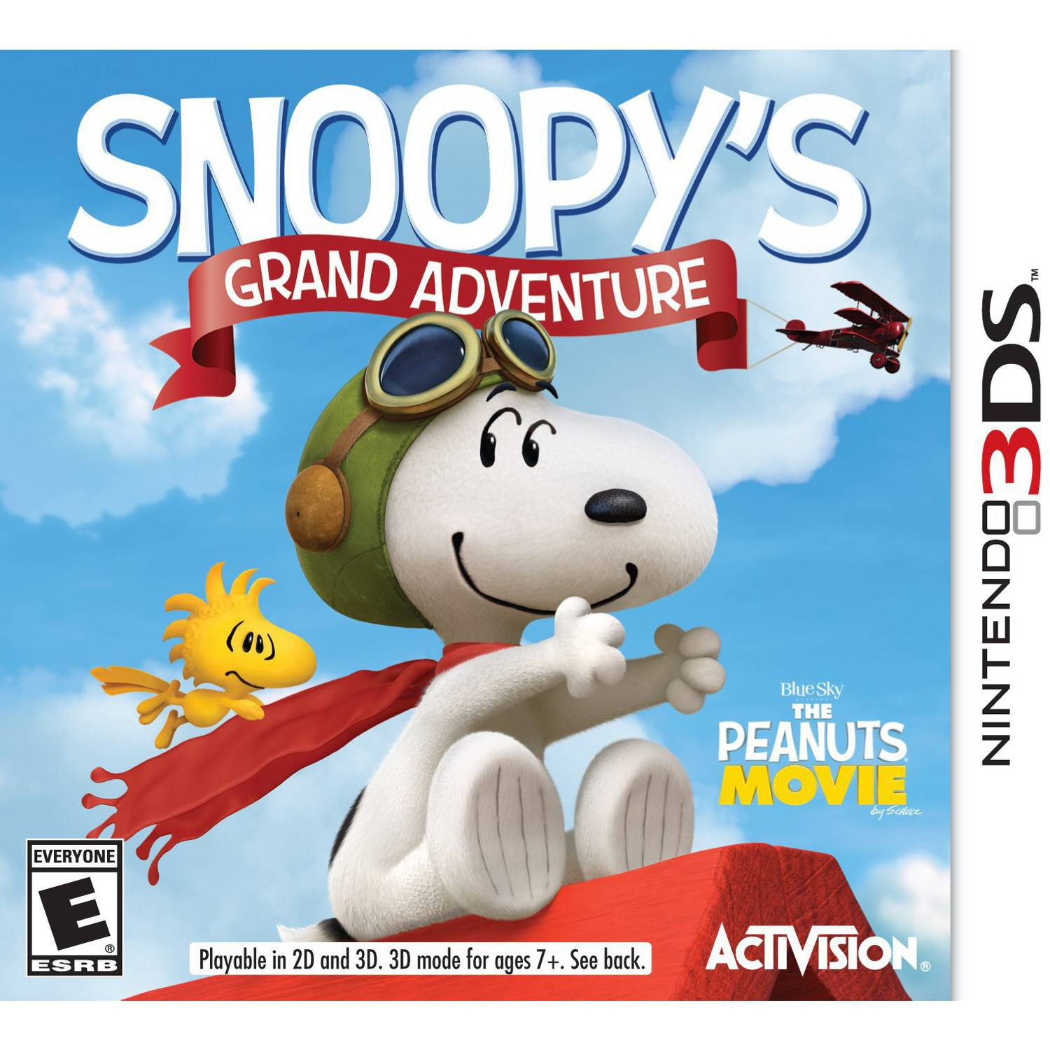 The Peanuts Movie: Snoopy's Grand Adventure (Nintendo 3DS)