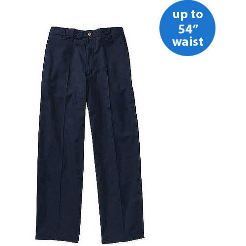 George Big Men's Half Elastic Twill Pant