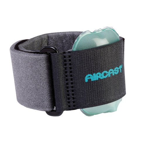 Aircast 50-5510 Pneumatic Armband for Tennis Elbow Black