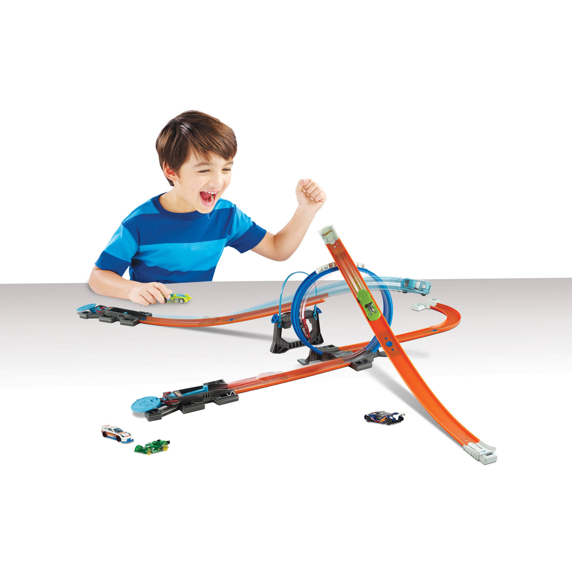 Hot Wheels Track Builder Starter Kit Playset