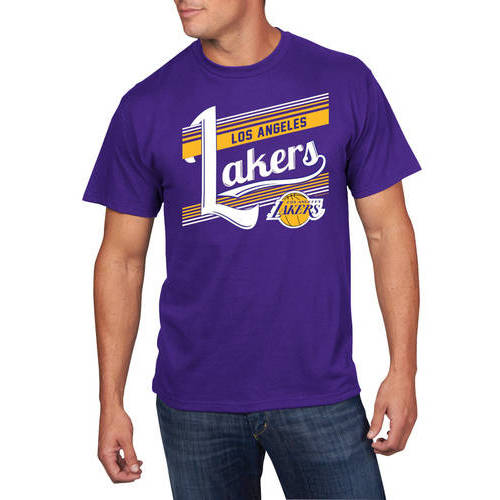 NBA Big Men's Los Angeles Lakers Holiday Short Sleeve Team Tee