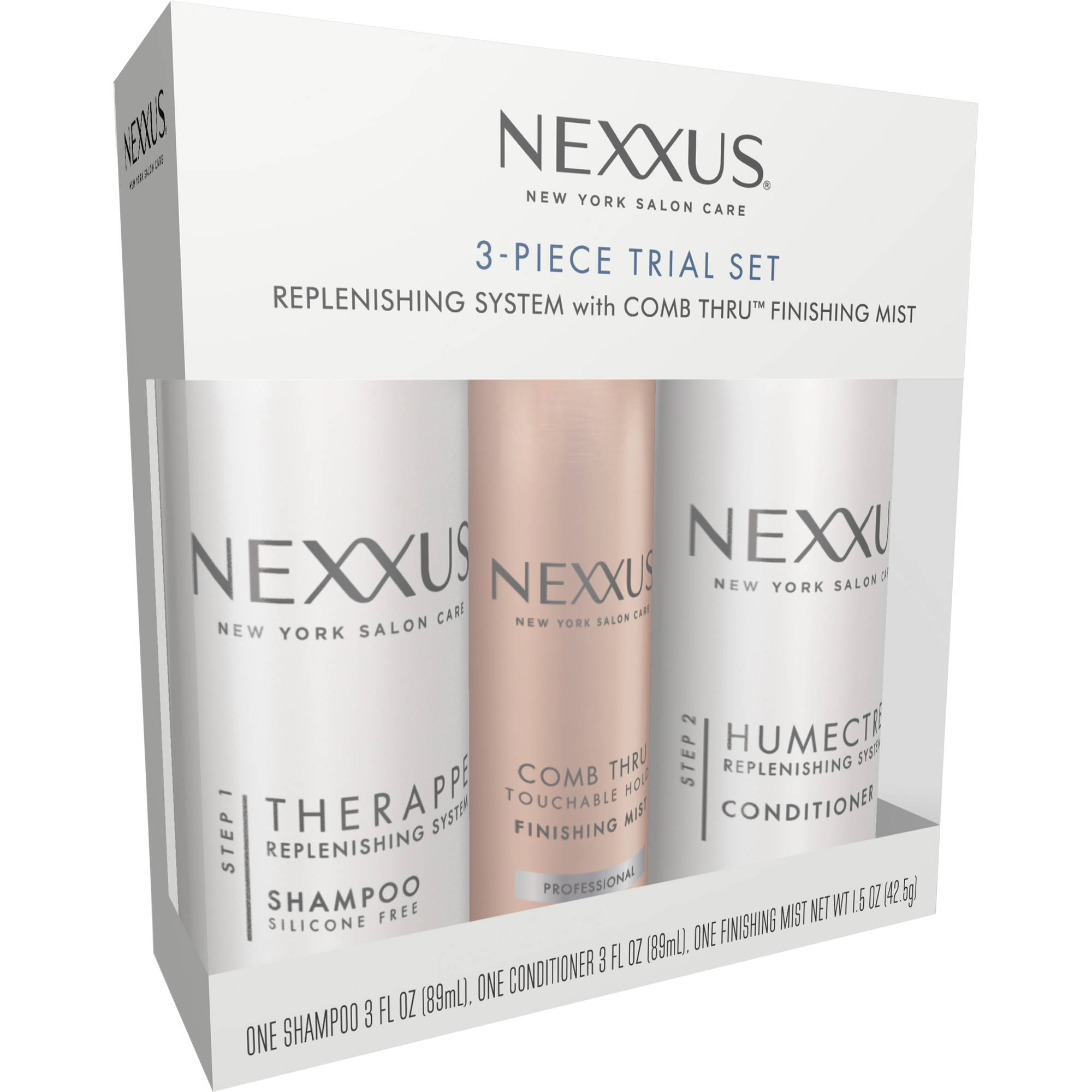 Nexxus Hair Care 3 Piece Trial Set