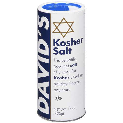 David's Kosher Gourmet Salt, 16 oz