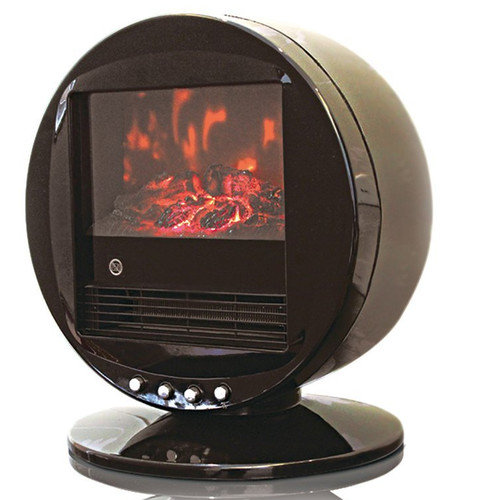 WBM LLC Himalayan Heat Circular 2000 W Electric Fireplace
